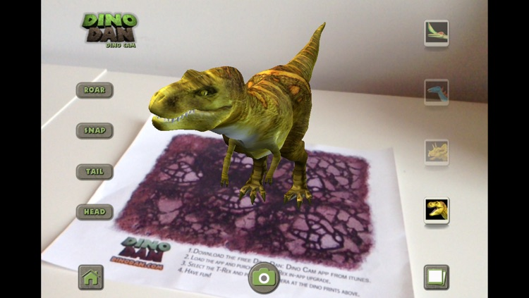 Dino Dan: Dino Cam screenshot-3