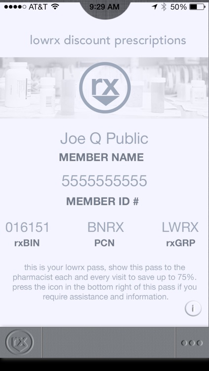 LowRx - Prescription Prices, Discount Card, and Coupons