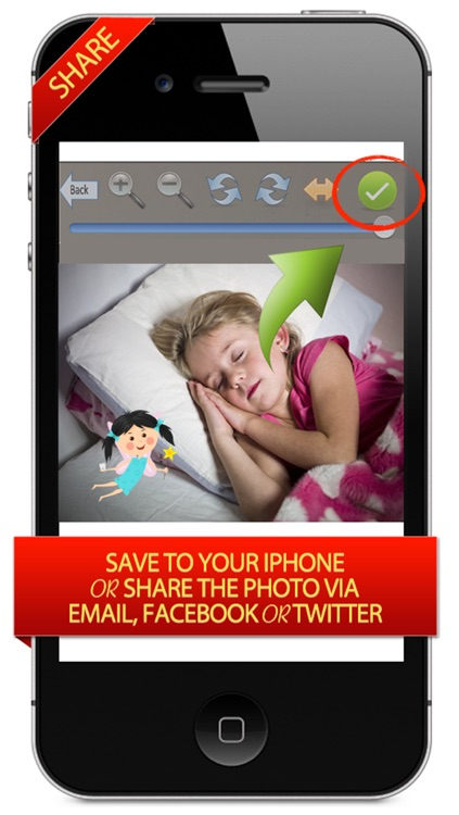 Tooth Fairy Was Here - Make Fairies Appear in Children's Pictures Like Magic screenshot-3