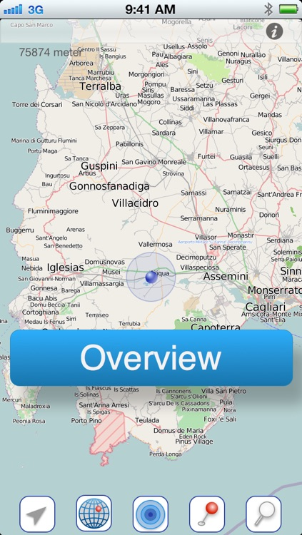Sardinia Offline Map screenshot-1