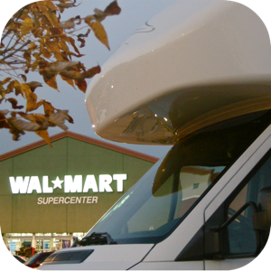 General Store and Overnight Parking Locator Pro - Walmart edition app