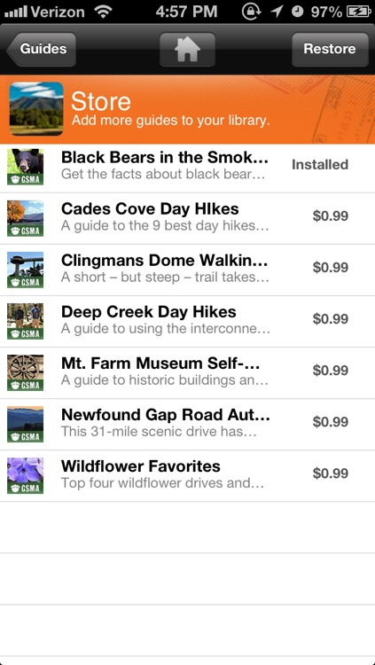 Great Smoky Mountains National Park - The Official Guide (Best of Bundle) screenshot-4