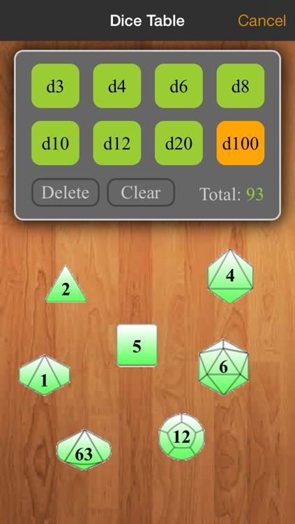 Real Sheet: D&D 3.0 Edition + Dice Table screenshot-4