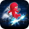 Agent Ninja Space Run 2 - Galaxy Race Dash Crush Multiplayer Edition