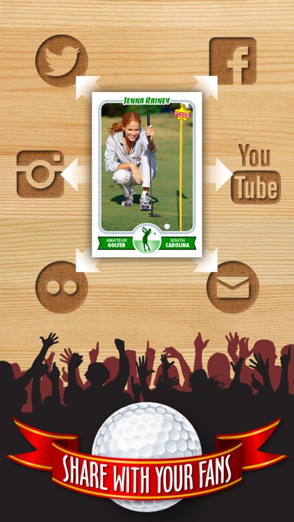 Golf Card Maker - Make Your Own Custom Golf Cards with Starr Cards screenshot-3