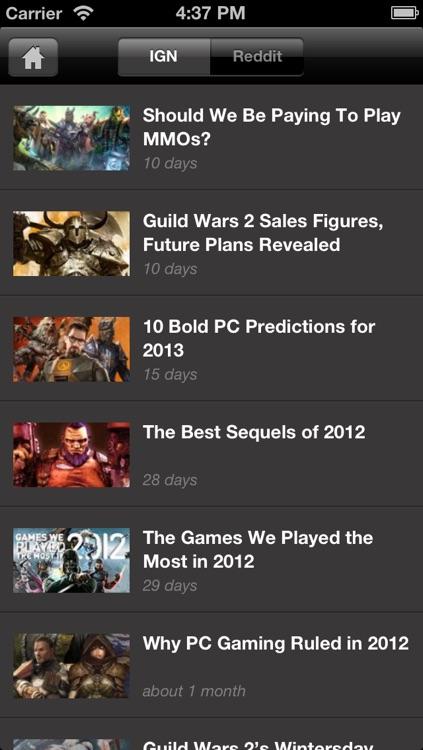 IGN App For GW2 screenshot-4
