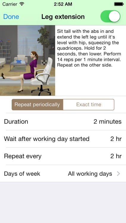 Health@Work - Workplace reminder to exercise, stretch, drink water screenshot-4