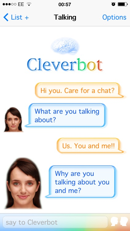 Cleverbot HD