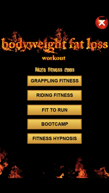 Body Weight Fat loss Workout