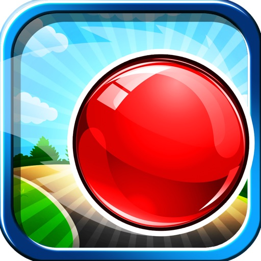Addictive Rolling Balls Platform Game Free - Avoid the Spikes with your Red Bouncing Wrecking Ball icon