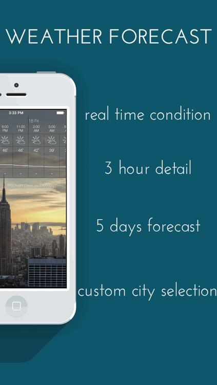 Talking Weather alarm clock - free