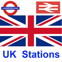 UK Train and Underground Stations Finder