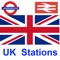 This application has been made to find nearest train/underground stations in the UK