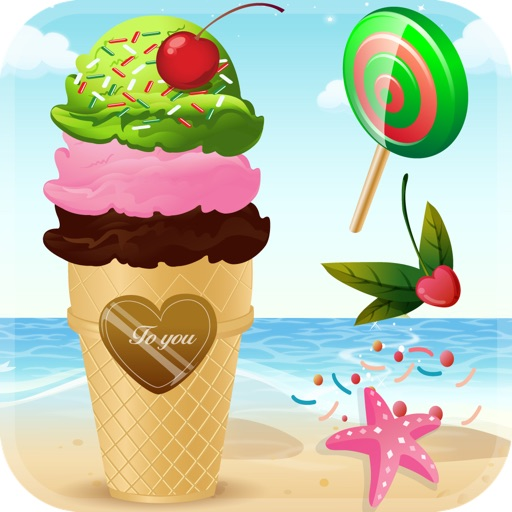 My Frozen Ice Cream Sundae Maker - The Virtual Candy Cone Sugar Pop Cotton Party Shop Game