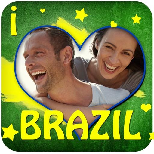 Brazil Flag Frames