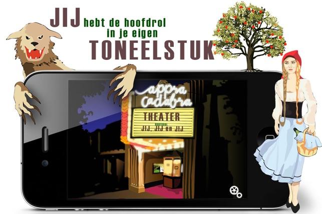 Poppenkast - Kinderapp om Toneel mee te Spelen - Appracadabra Screenshot