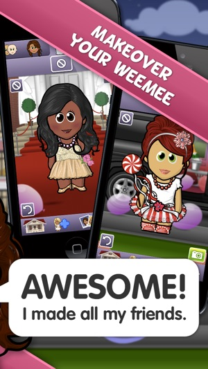 Party Girl Dress-Up - WeeMee Game on the App Store