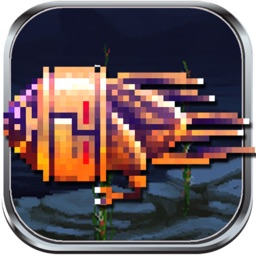 Ships and Rockets Free - Retro Pixel Art TD Arcade Underwater Shooting Game