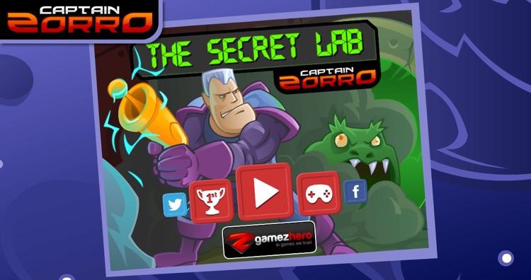 Captain Zorro: The Secret Lab
