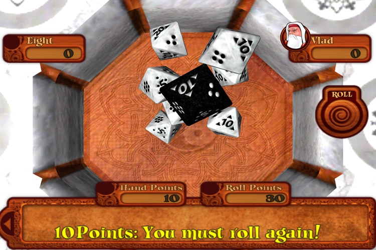 EIGHT - A Free Dice Game