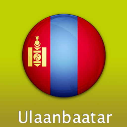Ulaanbaatar Travel Map (Mongolia)