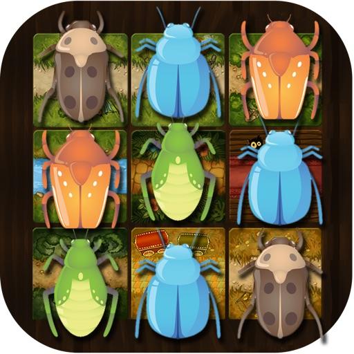 Bug Smash Killer Match Puzzle - Dude Squash Solver Blitz World Free