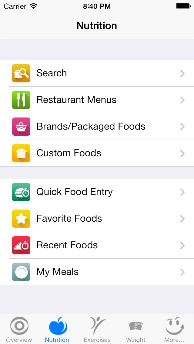 caloriesmart calorie counter nutrition tracker diet and fitness