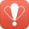 SnapStory: 場所・天気・Twitter名を写真にオシャレに重ねる、写真加工アプリアイコン
