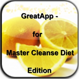 GreatApp - for Master Cleanse Diet Edition:The Master Cleanse and the Lemonade Diet+