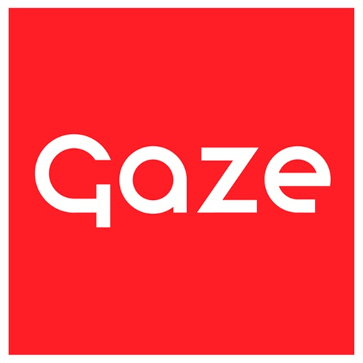 Gaze – A modern review icon