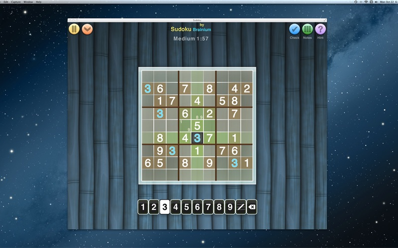 Sudoku OneTouch Screenshot