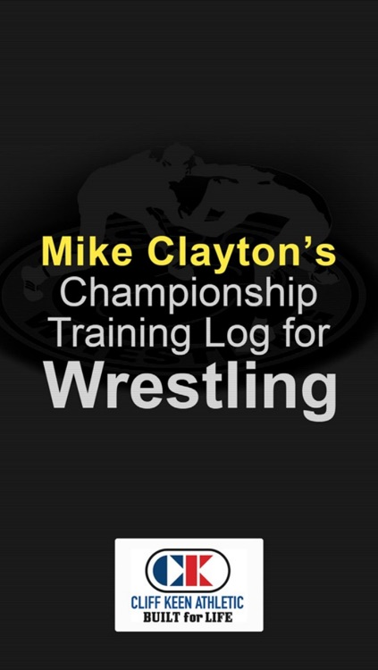 Mike Clayton's Championship Training Log For Wrestling