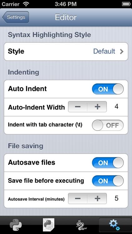 Python 2.5 for iOS screenshot-4