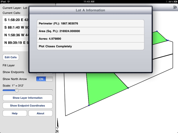 Metes and Bounds Pro screenshot-4