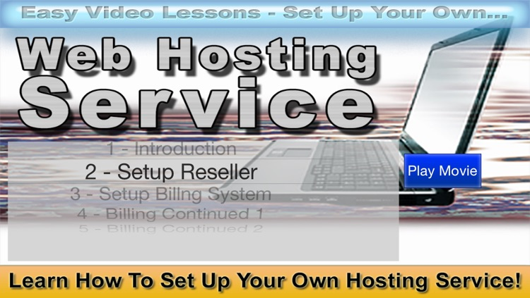 Setup Your Own Web Hosting Service Video Course
