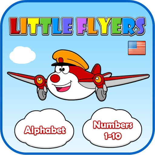 Little Flyers: ABCs & Numbers 1-10 (US English)