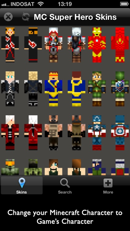 Super Hero Skins for Minecraft screenshot-1