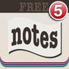簡単便利ふせんメモ - Badge Sticky Notes FREE-