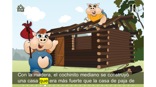 The 3 little pigs - Cards Match Game - Jigsaw Puzzle - Book (Lite) screenshot three