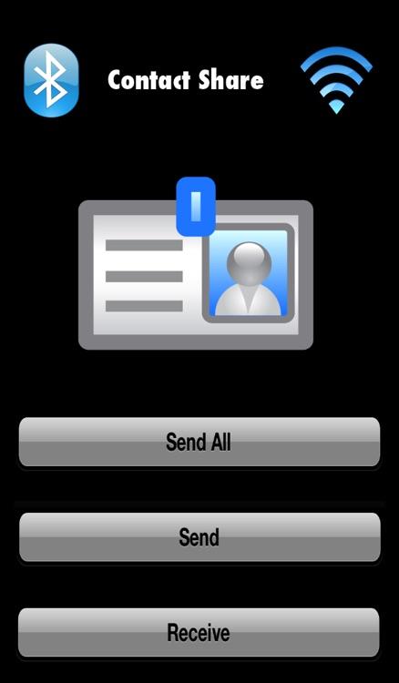 Contact Share - Bluetooth & Wi-Fi