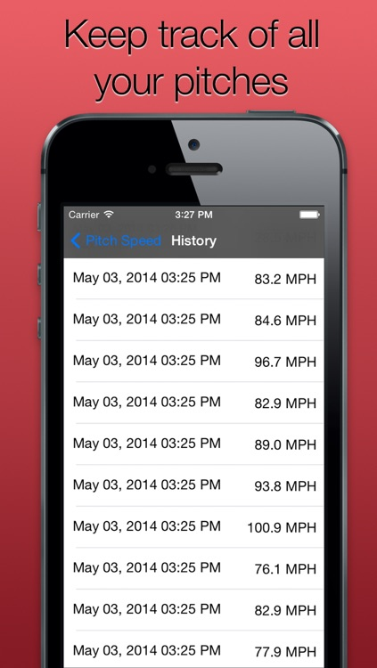 Pitch Speed for Baseball and Softball - Track How Fast like Radar Gun screenshot-3