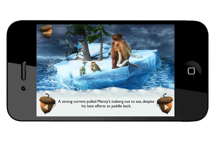Ice Age Movie Storybook Collection screenshot-3