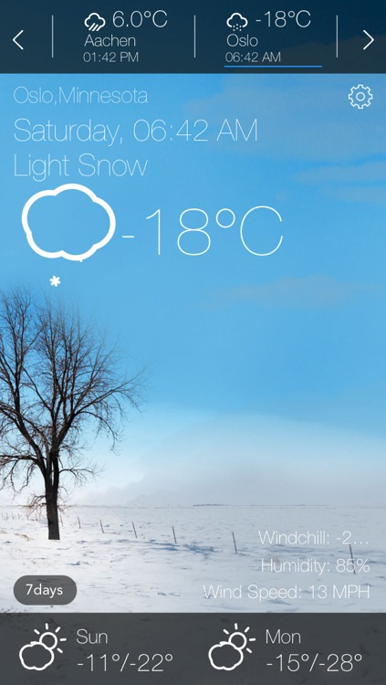 HD Weather - Animated screenshot-4