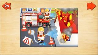 Spiele für Kleinkinder - Holz Puzzle für Jungen (6 Teile) 2+Screenshot von 1