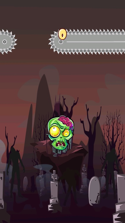 Angry Zomb-ie Head Protector-s: Save Your  Zombies Life From Blood Splat-ter Slaying Chainsaw-s FREE screenshot-3