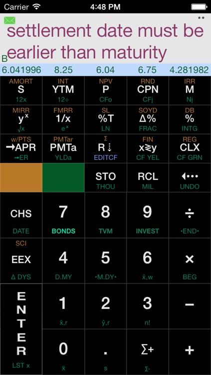 Calculator12 RPN Financial Calculator screenshot-4