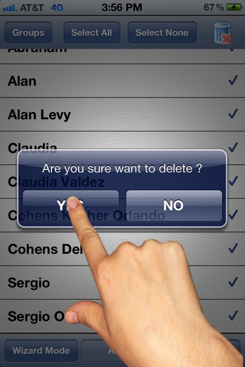 Cleanup Contacts Fast Lite screenshot-4