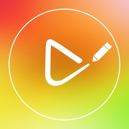 Draw on Video Square - Paint Sketching and Drawing Funny Colors Doodles Captions Handwriting and Shapes on Videos for Instagram