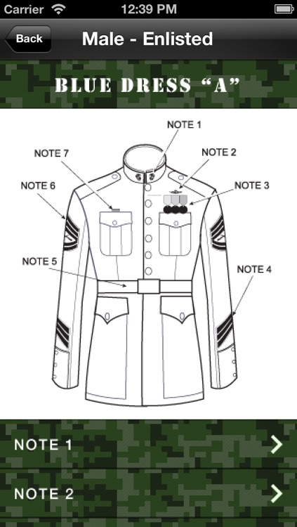 Uniform Guide Marine Corps screenshot-4