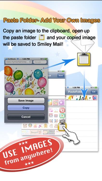 スマイリーメール - デコメが使えるよ!プレミアム SmileyMail screenshot-4